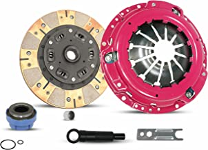 Clutch Kit Works With Mazda Pickup B2300 B2500 Ford Ranger XLT Limited Sport STX DX Edge Tremor Troy Splash SE 1995-2011 2.3L L4 GAS DOHC 2.5L L4 GAS SOHC 3.0L V6 (Stage 2 Dual Face Clutch Disc)