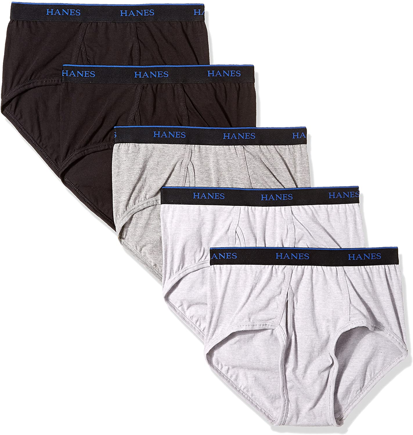 Hanes Ultimate Men's 5-Pack ComfortBlend Briefs with FreshIQ
