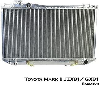 Aluminium Radiator Fits For Toyota Mark II Chaser Cressida JZX81 GX81 1G 1JZ 91-99