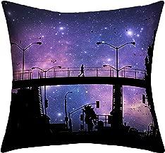 Deny Designs Shannon Clark Night Walk Outdoor Throw Pillow, 20 x 20