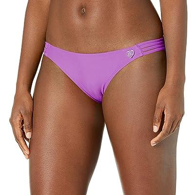 Body Glove Smoothies Flirty Surf Rider Solid Bikini Bottom Swimsuit