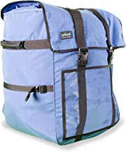 Insular Heavy Duty Multipurpose Cordura Fabric Logistics Delivery Backpack (Blue) - Commercial Quality Grade | Expandable | Stain & Water Proof | E-Commerce, Catering, Food & Grocery Delivery