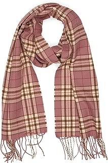Super Soft Luxurious Cashmere Feel Warm Winter Pattern Design Unisex Scarf