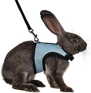 Niteangel Adjustable Soft Harness with Elastic Leash for Rabbits