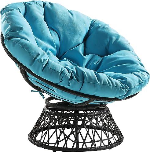 OSP Home Furnishings Wicker Papasan Chair