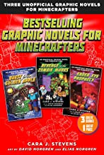 Bestselling Graphic Novels for Minecrafters (Box Set): Includes Quest for the Golden Apple (Book 1), Revenge of the Zombie...