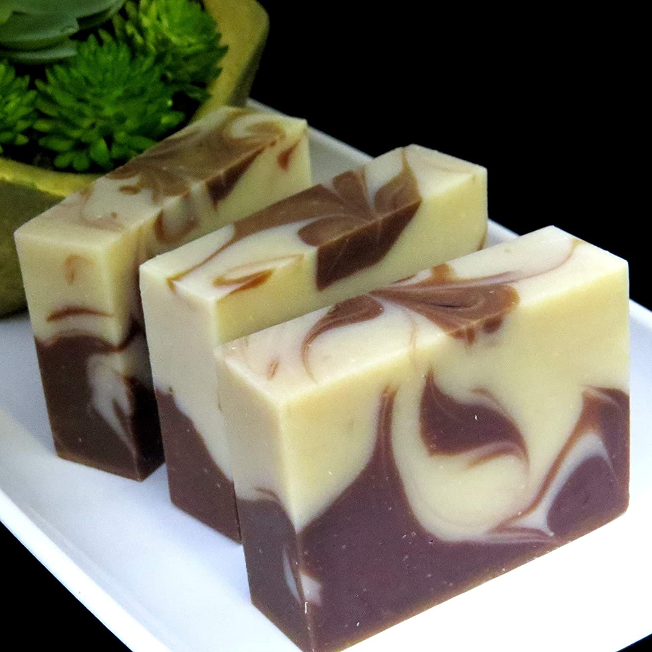 Organic Calming Coconut Milk l All Natural | Vegan Cold Process Handmade Soap l Jojoba l Kaolin Clay l