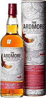 Ardmore 12 Jahre Port Wood Finish Single Malt Whisky, mit Geschenkverpackung, 46% Vol, 1 x 0,7l