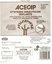 Acecap 75-Pack Systemic Insecticide Tree Implants for Control of Tree Pests, 3/8-Inch