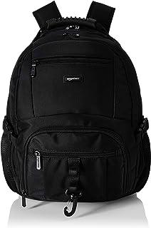 AmazonBasics NC1504159R1 Explorer Laptop-Rucksack, für Laptops mit bis zu 38 cm 15 Zoll, Schwarz