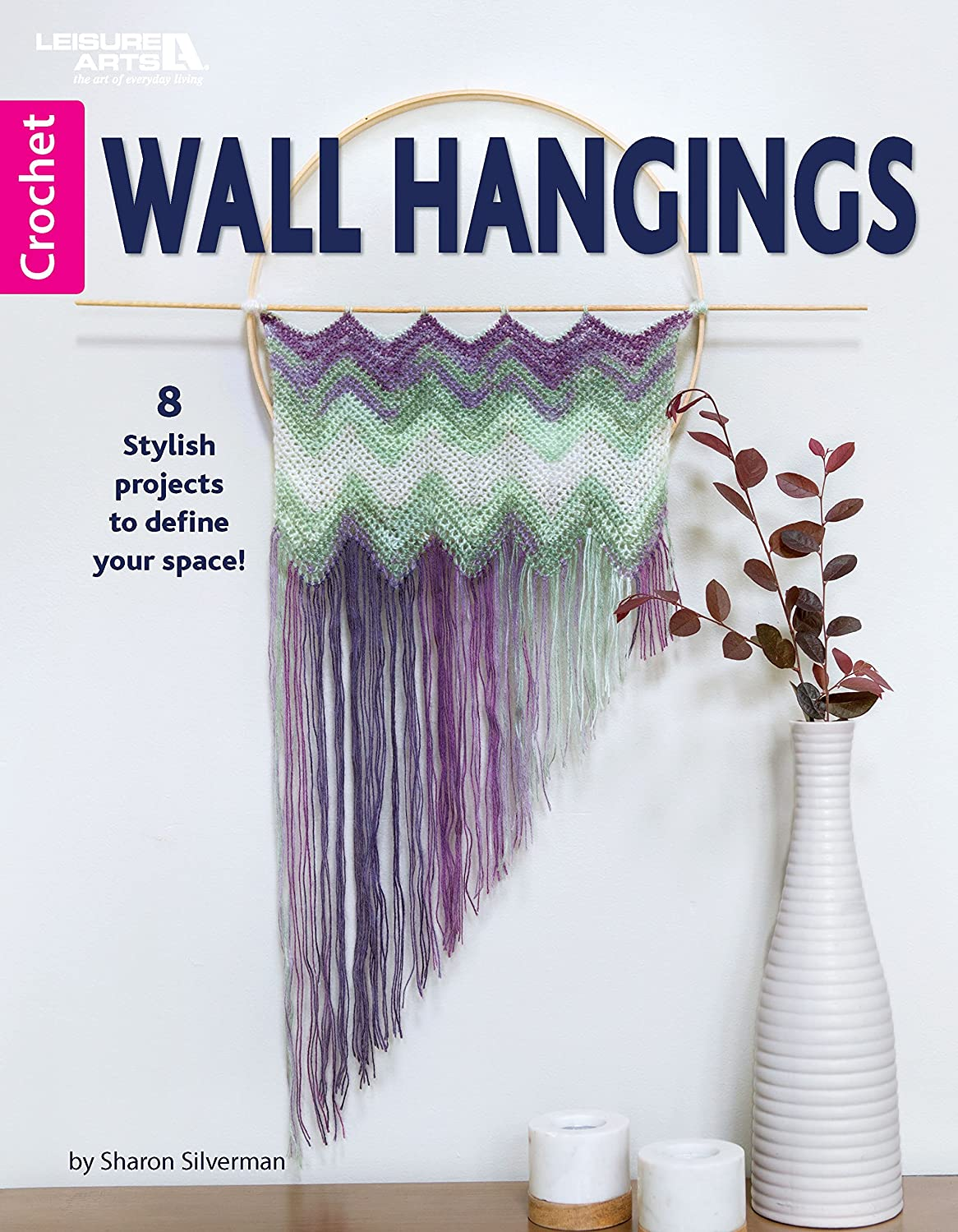 Leisure Arts 7253 Wall Hangings Bk, None