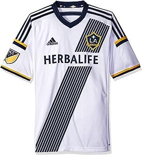 adidas MLS LA Galaxy Home Jersey [White]