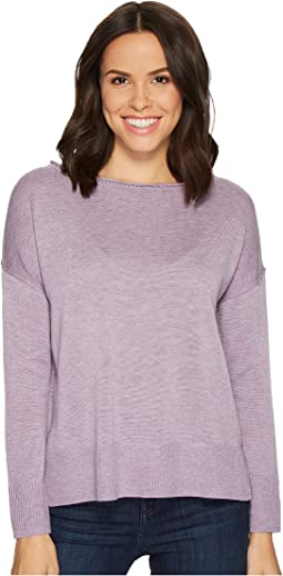 Long Sleeve Sweater w/ Exposed Seams
