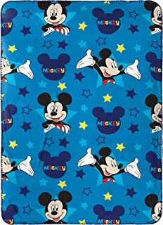 Jay Franco Mickey Mouse Plush Travel Blanket