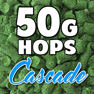 Cascade Hop Pellets 50g Hops AUS Home Brew Beer Sealed for Freshness Aroma Taste