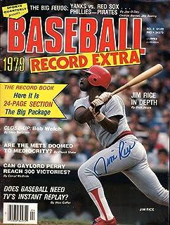 Jim Lonborg Signed 1968 Street /& Smiths Baseball Yearbook Boston Red Sox