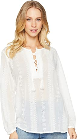 Moroccan Embroidered Blouse