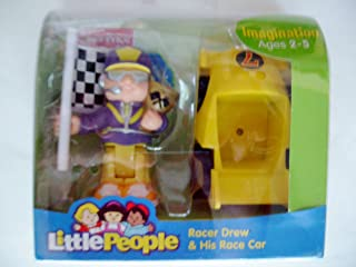 Little People Racer Drew & His Race Car