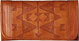 Crossed Arrows Trifold Wallet