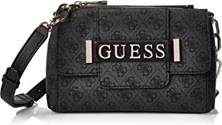 GUESS Womens Kerrigan Top Handle Flap Bag