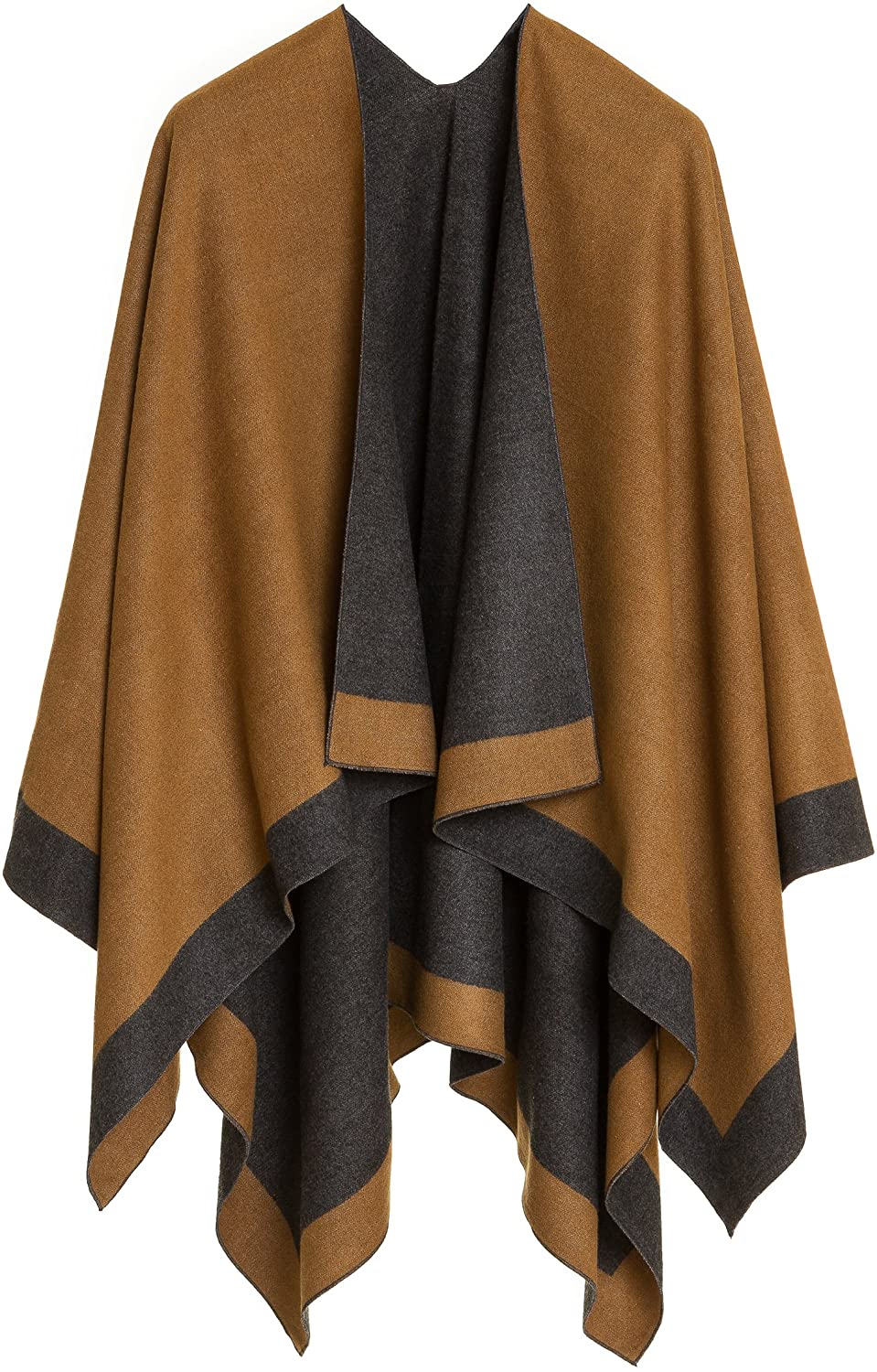 security MELIFLUOS DESIGNED IN SPAIN Women's excellence Ruana Poncho Wrap Shawl Cape