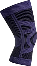 Compression Knee Sleeve – Knee Support for Running, Jogging, Sports, Joint Pain Relief, Arthritis and Injury Recovery – Breathable Sweat-Wicking Design