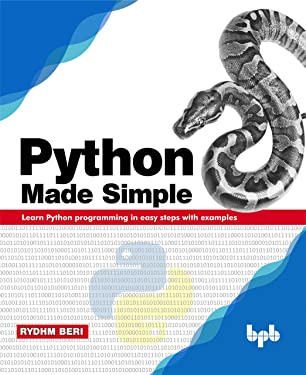 Python Made Simple: Learn Python programming in easy steps with examples (English Edition)