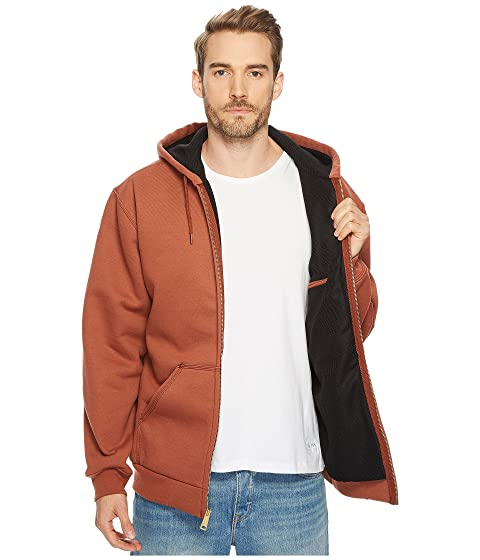 Zip Sweatshirt Carhartt Lined Thermal RD Rutland Front Hooded gXgqU8nw
