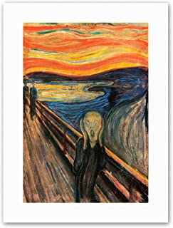 Wee Blue Coo Edvard Munch The Scream Poster Painting Old Master Canvas Art Prints
