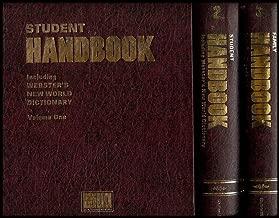 Student Handbook Vol. 1 and 2 + Family Handbook Vol. 3 (Including Roget's University Thesaurus/Webster's New World Dictionary) [3 Volume Set]