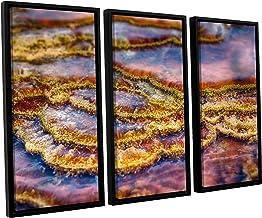 Scott Campbell's Pancakes Hot Springs, 3 Piece Floater Framed canvas Set 24x36