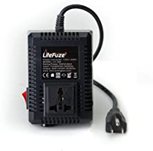 LiteFuze LC-500US 500Watt Step Up/Down Travel Voltage Converter, US Cord