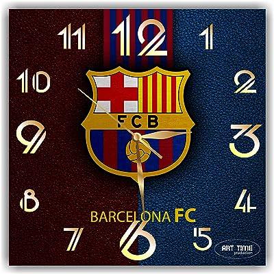 フットボール・クラブ・バルセロナ(Barcelona Football Club) 11.4''掛け時計あなたの友人やご家族のための最高のプレゼントです。プラスチック製