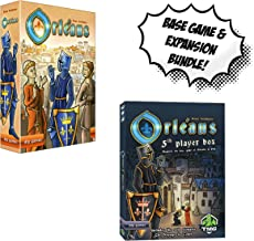 Orleans Base Game + Orleans: 5th Player Expansion! Board Game Bundle!