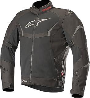 Alpinestars Men's T-Core Air Drystar Waterproof Textile Street Motorcycle Jacket, Black/Black, X-Large