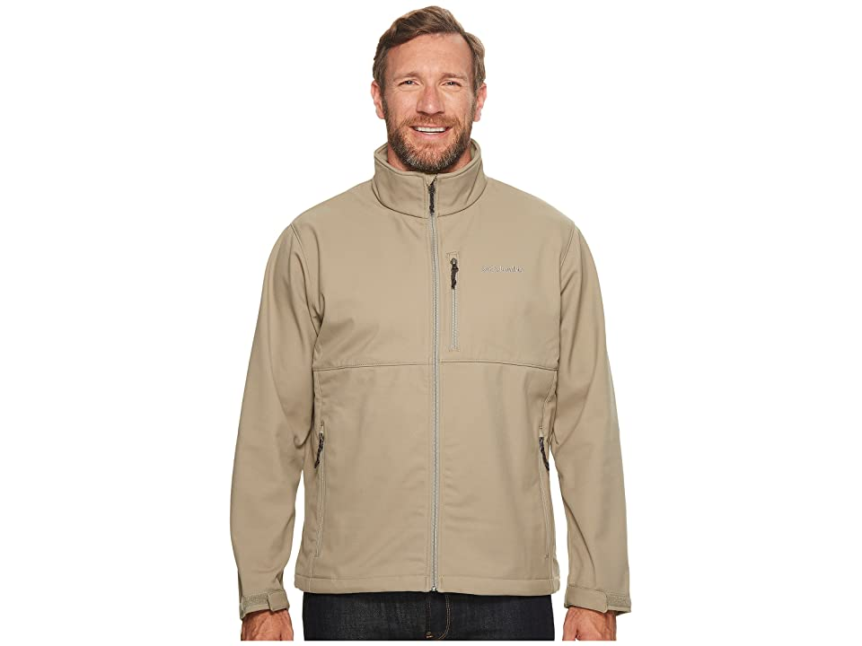 Columbia Big Tall Ascendertm Softshell Jacket (Tusk) Men