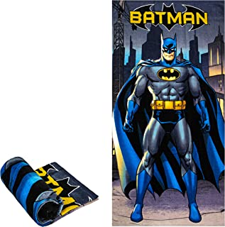 Batman In City Beach/Pool/Bath Towel, Super Soft & Absorbent & Quick Dry, Fade Resistant Cotton Towel, Extra Large Size 58