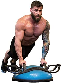 Helmfit The Helm Core Fitness Strength Training System - Multi Grip Push Up and Plank Device for Balance Ball and Stabilit...