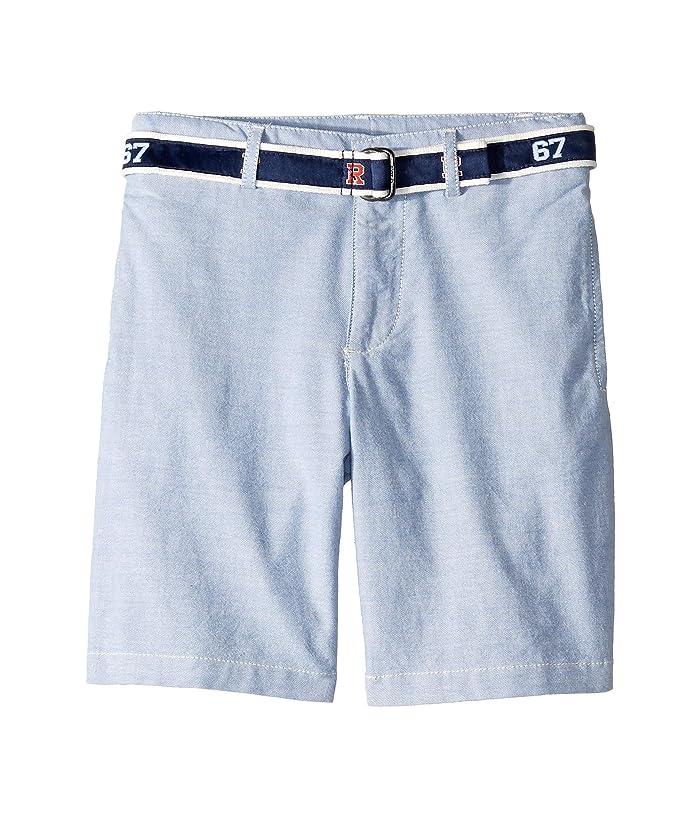e58c94ee97 Polo Ralph Lauren Kids Slim Fit Belted Stretch Shorts (Little Kids ...