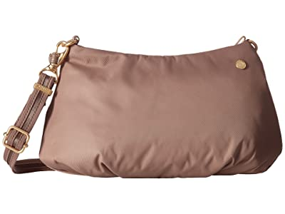 Pacsafe Citysafe CX Anti-Theft Small Crossbody Bag (Blush Tan) Cross Body Handbags