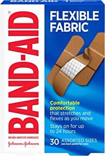 باند باند قابل انعطاف با نام تجاری Band-Aid برای مراقبت از زخم و کمک های اولیه ، اندازه های متفاوت ، 30 سی تی