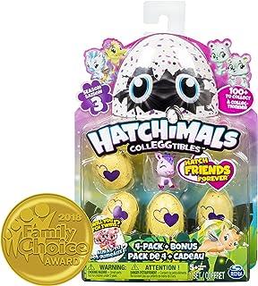 Hatchimals Colleggtibles Series 3 - 4pk with Bonus Collectibles