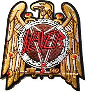Slayer Logo Patch Aufn/äher Aufb/ügler Patch Titan One Europe