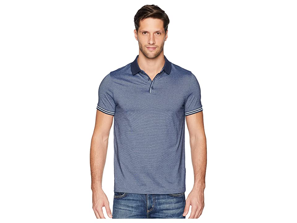 Perry Ellis Essential End On End Polo (Ink) Men