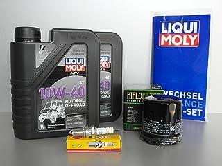 Mantenimiento y Service Set para quad Yamaha YFM 660Grizzly con filtro de aceite Bujía