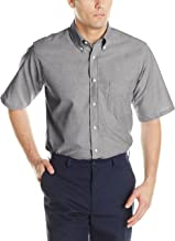 Red Kap Men's Executive Oxford Dress Shirt, Short Sleeve