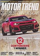 Motor Trend Magazine November 2017 Chevy Camaro Cover