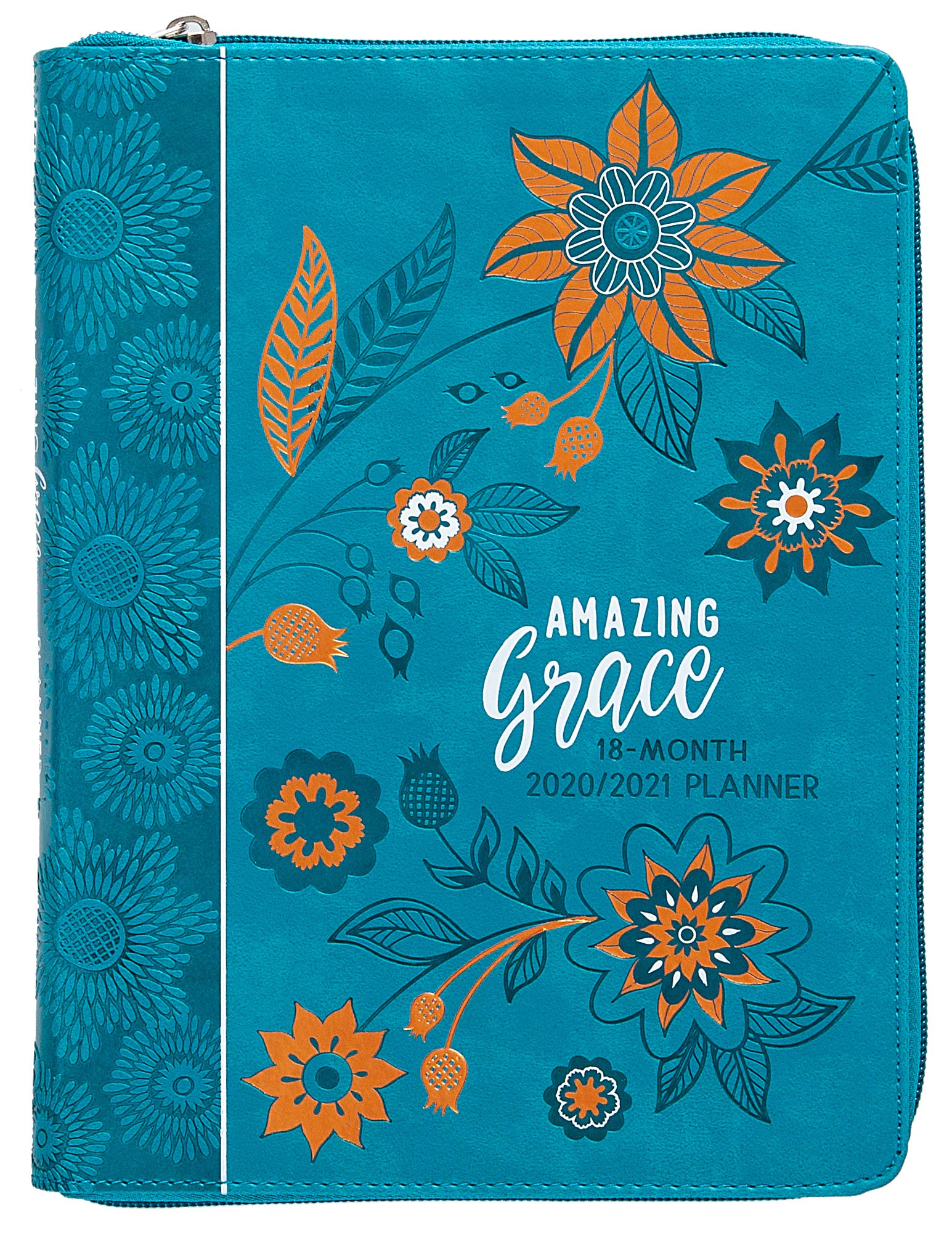 Download Amazing Grace 2021 Planner: 18 Month Ziparound Planner 