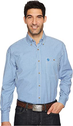 Wrangler - Long Sleeve George Strait Button Plaid