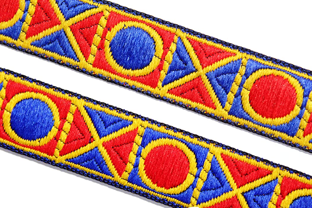09 Yards of Jacquard Trim Designer lace Fabric Trim by iDukaancrafts